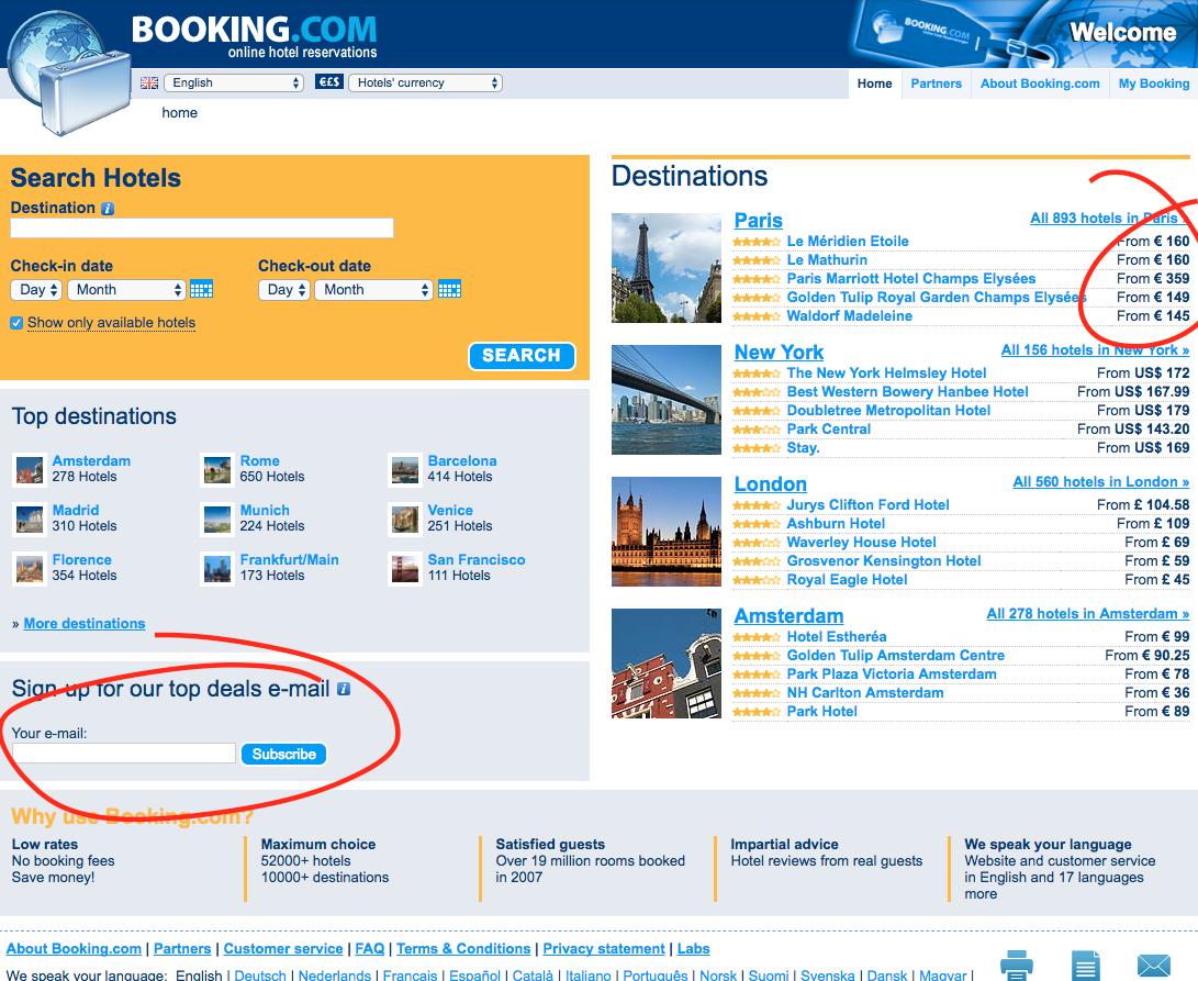 Booking.com 2008