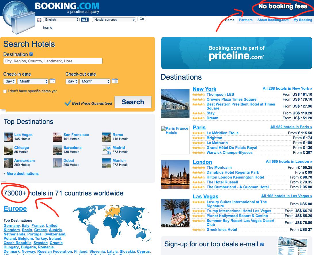 Booking.com 2009
