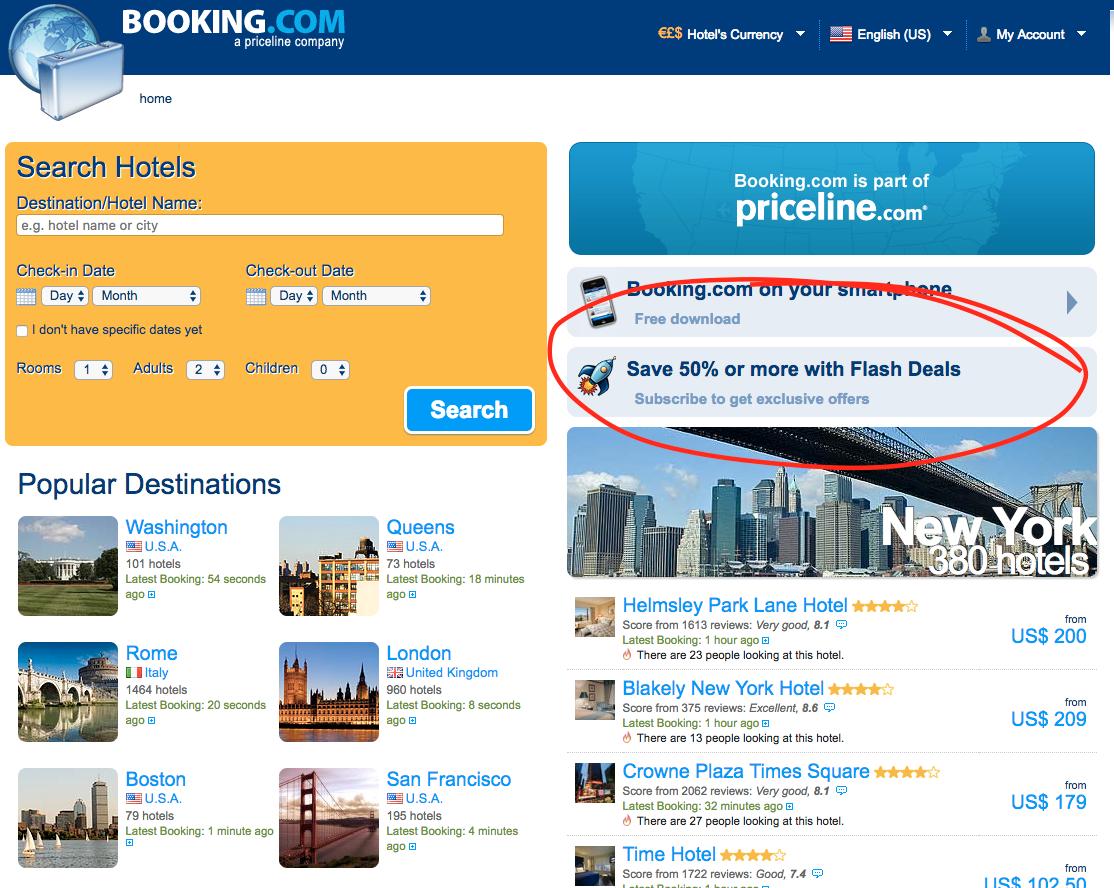 Booking.com 2012