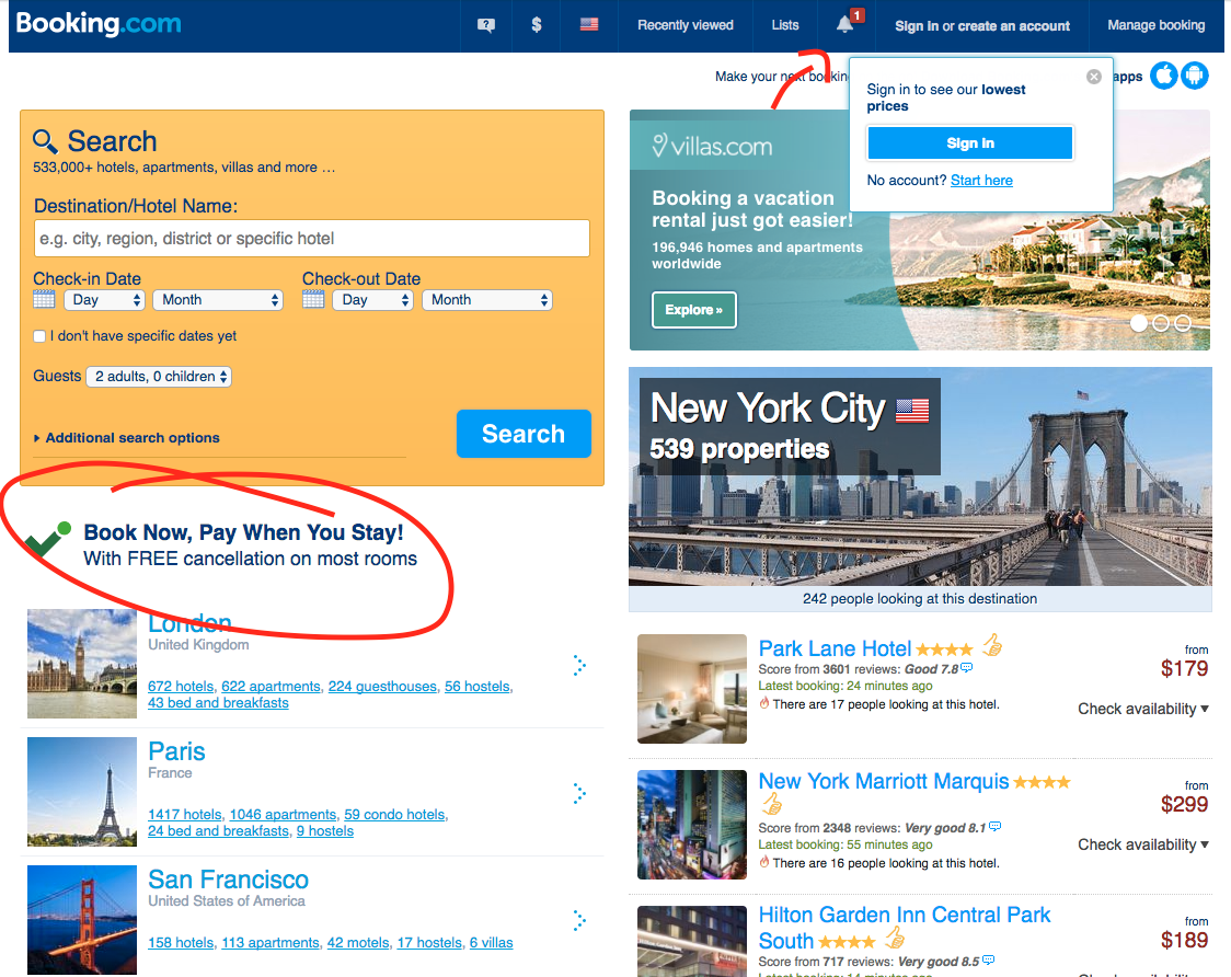 Booking.com 2014