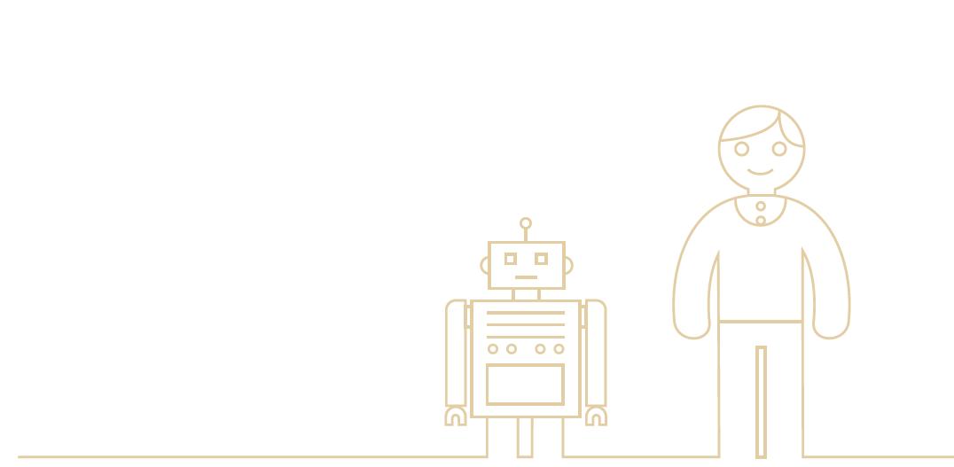 Live chat human robot