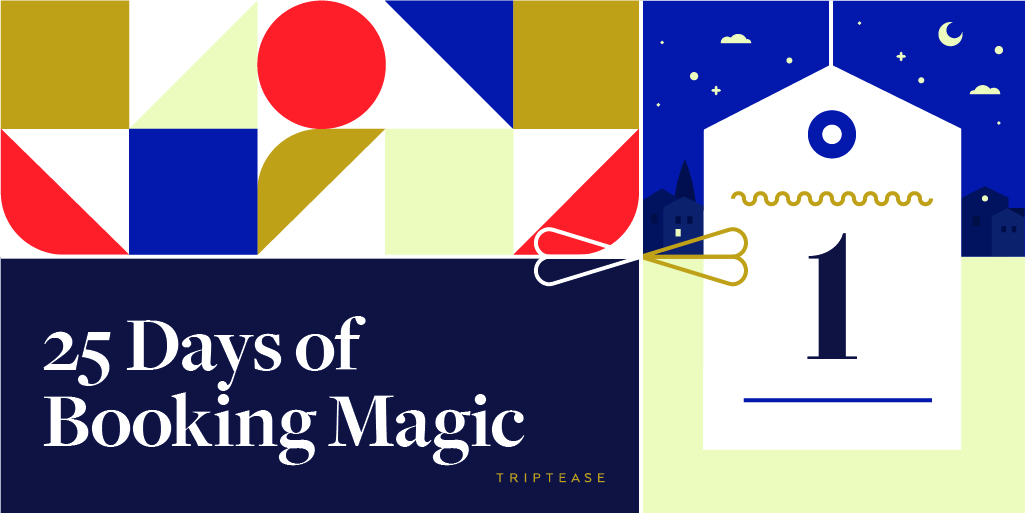 25 Days of Booking Magic image - Day 1
