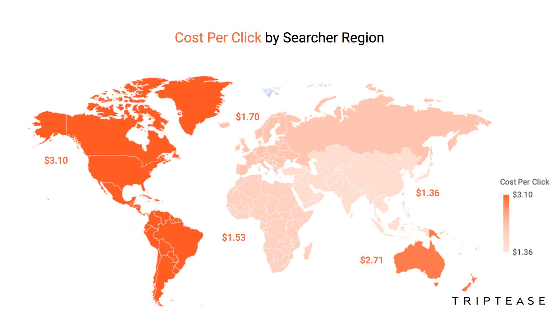 cost per click map